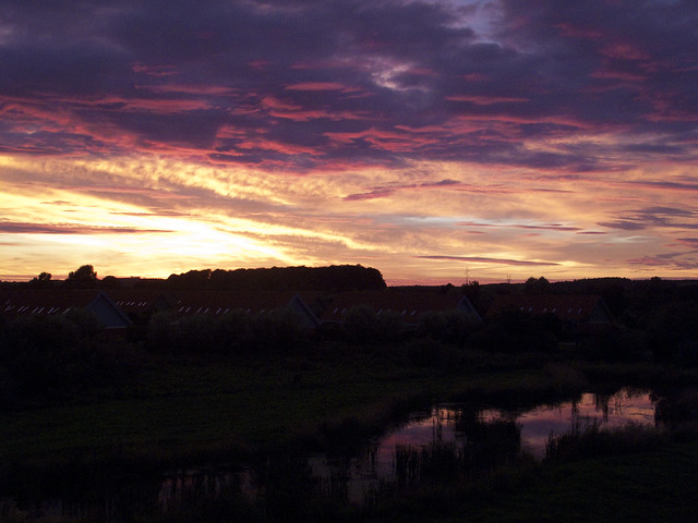 horsens sunset 1