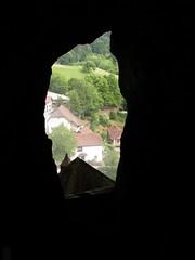 Predjamski Grad (10) - inside the cave behind the castle (marc_vie) Tags: slovenia cave slowenien grad castel burg grotte hhle slovnie slovinsko predjama lueg hhlenburg predjamski lueghi