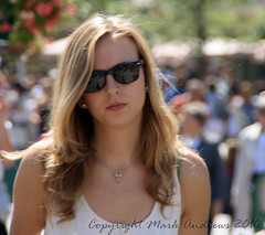 Candid Girl at Disneyland Paris 19th August 2010 (mark1309 / Mark Andrews Photography) Tags: paris france girl sunglasses pretty disneyland candid streetphotography blonde candide chessy tamron18200mm eos400d girlfemale