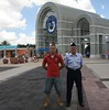 an Airman and a Marine in front of Sea World in San Antonio (baltic_86 (mostly off)) Tags: sanantonio marine texas tx military airforce bootcamp seaworld bulldogs lackland airman baltic86 graduation62510 trs326