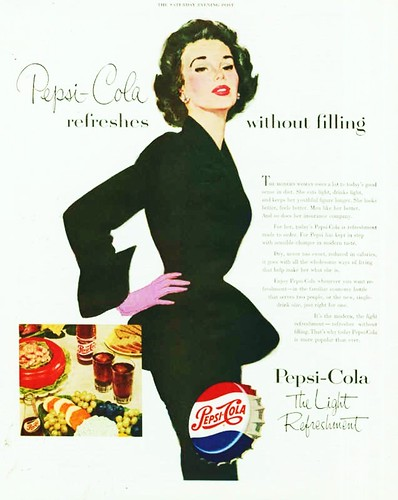 1953 Pepsi Cola advertisement. by Eddie from Chicago