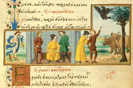 Mercurius et Tiresias
