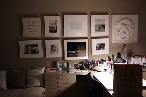 Doyald Young desk in August 20