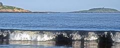 Rolling Surf, Reflections and Seguin Island Light (foroyar22) Tags: ocean usa lighthouse reflection me island surf maine wave georgetown atlantic kellogg seguin kennebec kennebecriver pophambeach phippsburg charleskellogg wbnawneme charlesgkellogg charliekellogg
