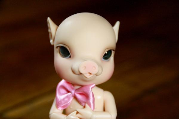 NOUVELLES PHOTOS de Sacha en bas de P1 (BJB cochon Elf Doll) 4927358134_210dd0f609_o