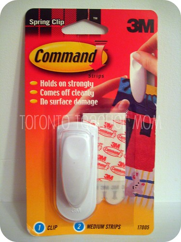 Command Brand by 3M Spring Clip