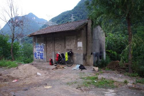0564 campamento  ENTRE BOUJI Y FENG XIAN