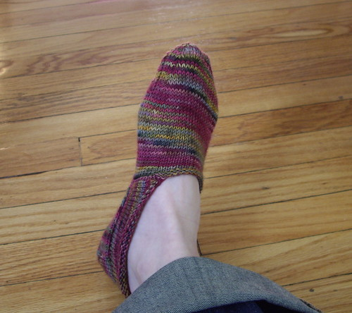 Scandinavian clog sock