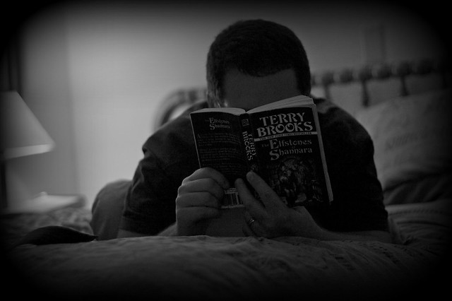 2010-Day 225  Just Readin Again by Catgunner