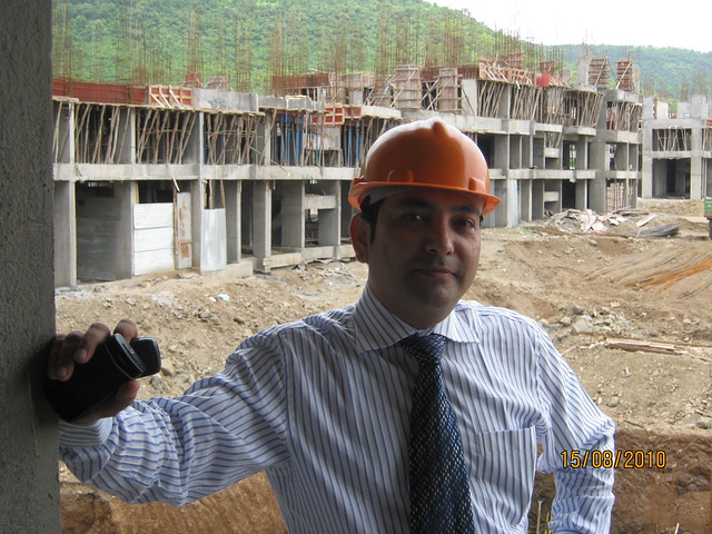 Megapolis Smart Homes 2, Hinjewadi Phase 3 - Hemant Kulkarni in the sample flat 1