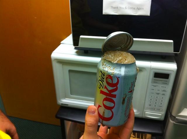Frozen Coke & Broken Lid