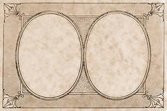 My lucky number's two (jinterwas) Tags: classic texture sepia drawing stock free overlay textures cc frame creativecommons layer layers drawn rand oval tekening kader klassiek stockyard t4l freetouse doubleframe getekend ovalen klassiekkader klassiekerand