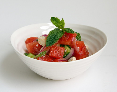 Feta-Watermelon Salad I