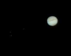 Jupiter and Moons (z107matt) Tags: inch 11 astrophotography celestron