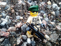 Random Marine (-Juzu-) Tags: soldier marine gun lego ba brickarms