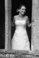 Window Black & White (Jackie McDine) Tags: wedding photography bride bath photographer somerset wiltshire lacock