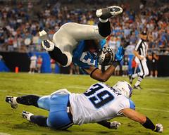 Panthers vs Titans (Steve Lindenman) Tags: us charlotte northcarolina goodson tennesseetitans carolinapanthers schommer lindenman