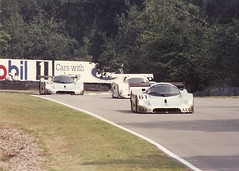 Sauber Mercedes C9 - Brands Hatch 1000Kms 1989 (mendaman) Tags: world sports mercedes championship prototype sauber 1989 hatch fia brands c9