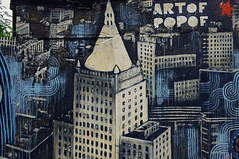 Artof Popof (zazouzazou) Tags: streetart paris building urbanart ourcq immeuble popof artofpopof