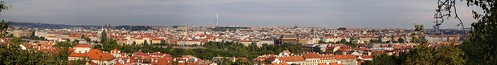 Panorámica de Praga desde Petrin Park