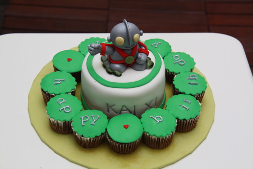 Ultraman Cupcake
