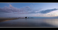 nothing from nothing ..... (SkattyKat) Tags: ocean tourism beach water clouds sunrise reflections sand nikon sigma wideangle tourist moonlight lowtide cloudscapes currumbin goldcoast wetfeet southeastqueensland currumbinrock sigma10mm20mm nikond300s
