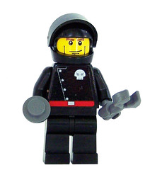 Space Pirate Mech Tech Minifigure (miniBIGS) Tags: star power lego space pirates police wars minifig custom mech miners minifigure minibigs