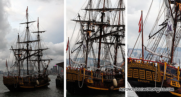 The ship from different angles