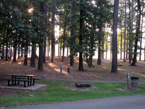 Millwood Lake Camping