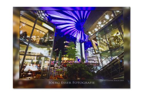 Whitewall Foto-Abzug unter Acrylglas