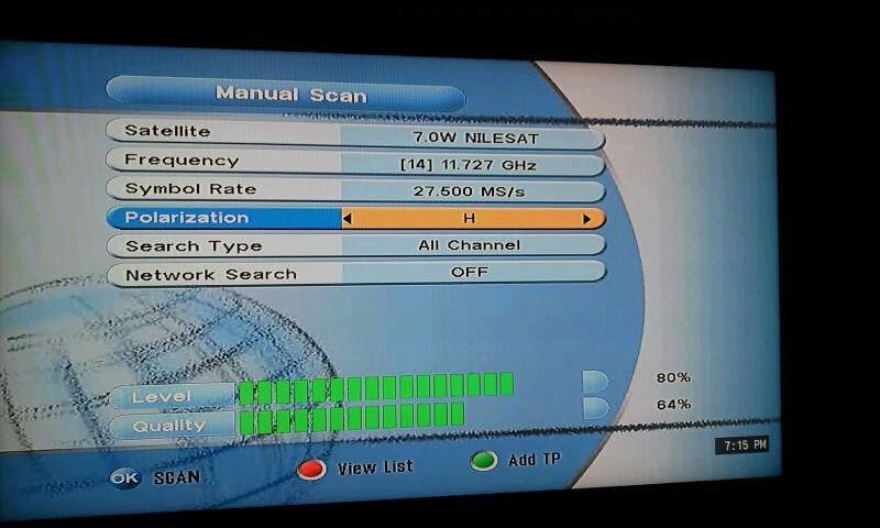 Nilesat Channels Frequency List