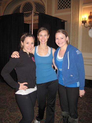 Kim, Jenny, Lisa Zumbathon