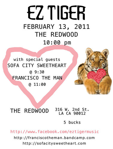 Redwood Bar: Los Angeles, California. February 13th, 2011.