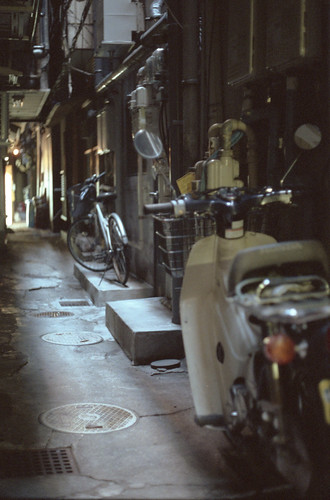 Small Alley in Ginza