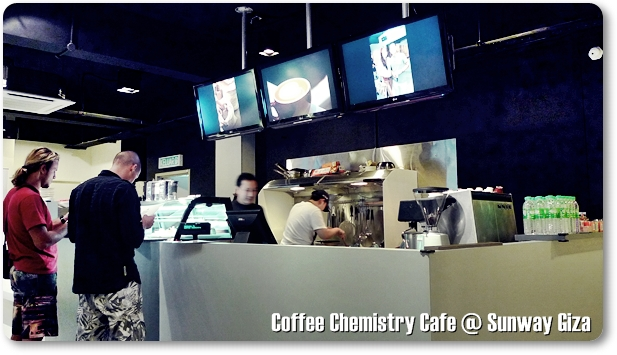 Coffee Chemistry Cafe @ Sunway Giza