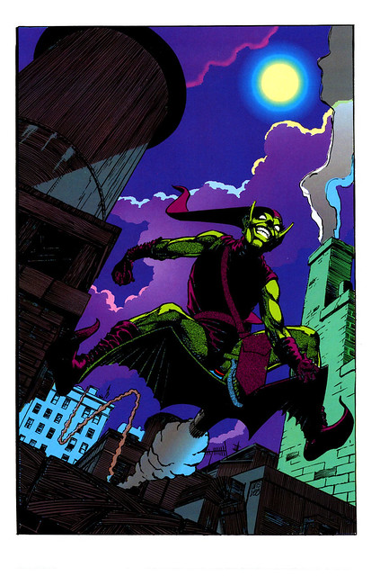 Marvel Fanfare 045 Green Goblin by Paul Smith