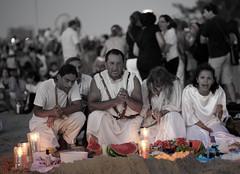 La virgen del mar   Yemanj   110202-0450-jikatu (jikatu) Tags: africa sunset beach canon religious uruguay atardecer mar dusk religion playa montevi