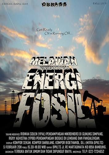 OBRASS Melawan Ketergantungan Energi Fosil
