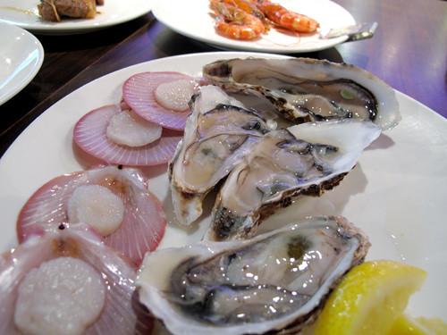 oyster-sashimi