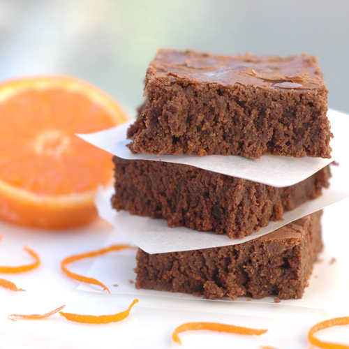 Mocha Orange Brownies
