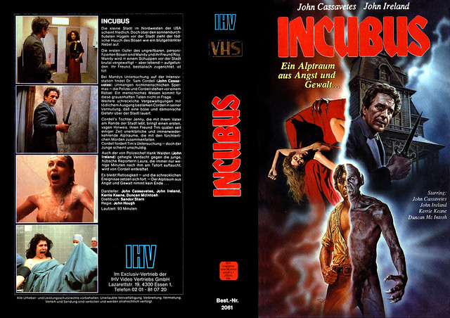 Incubus (VHS Box Art)