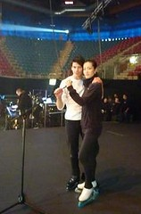 Shizuka Arakawa & Stephane Lambiel Art on Ice 2011