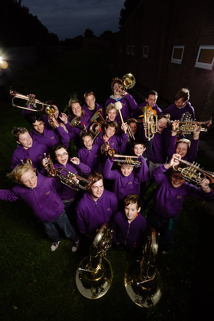 Clevedon Lions Youth Brass for Somerset Life
