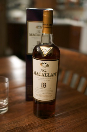 The Macallan 18 bottle