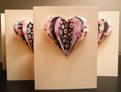 2011 Valentine's Greeting Card (lpinette) Tags: 3d heart card valentines greeting tutorial howaboutorange