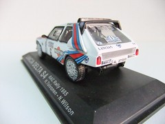 LANCIA DELTA S4 / RAC RALLY 1985 - ALTAYA (RMJ68) Tags: cars toy rally delta wilson 1985 rac coches s4 juguete lancia 143 diecast toivonen altaya scale143