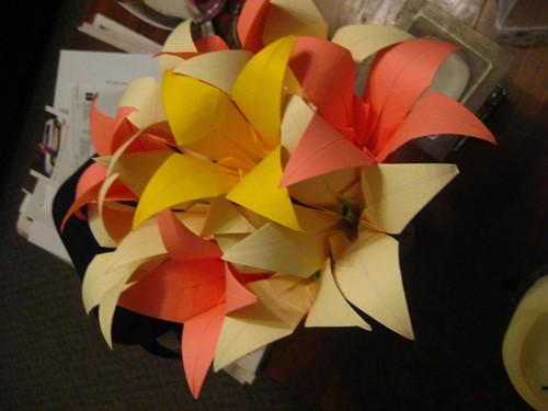 Paper Flowers from Matt