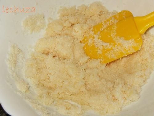 Tarta de coco y piña-coco