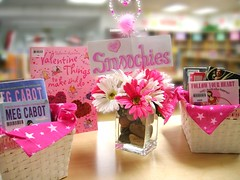 Smoochies (Enokson) Tags: pink flowers school fiction signs flower color colour sign daisies catchycolors hearts reading book kiss colorful basket heart library libraries decoration kisses books valentine romance read candyhearts displays baskets signage daisy romantic novel colourful schools february centerpiece stories kissme bookdisplays nonfiction feb14 juniorhigh valentinesday candyheart february14 centerpieces newbook centrepiece smoochy librarysignage centrepieces librarydisplays smoochies bookdisplay romancenovels librarysigns teenspaces teenlibrary juniorhighschools booksforteens middleschoollibrary february2011 middleschoollibraries schooldisplays teenlibraries romanticnovels vblibrary juniorhighschoollibrary juniorhighschoollibraries enokson librarydecoration romanticbooks romanticreads romanticreading