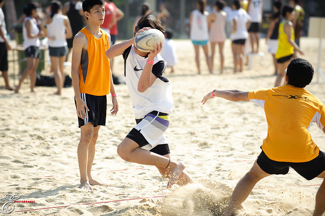 Beach Touch Rugby - 005